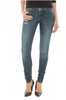 CORAL SUPER LOW DNM JEANS CRE164182