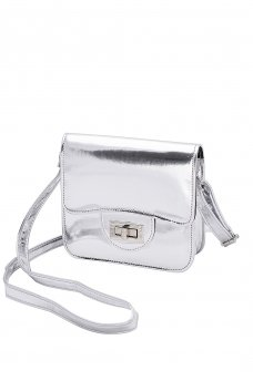 LIBBY PU METALLIC CROSSBODY ACC