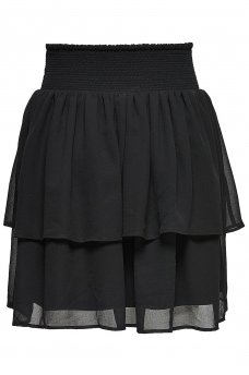MIA LAYERED SHORT SKIRT WVN