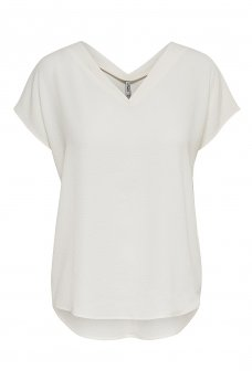 VIVA SS V-NECK TOP NOOS