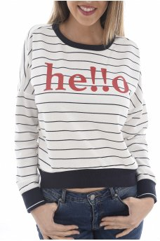 SUNNY L/S BATWING SWT