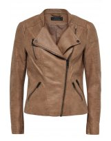 AVA FAUX LEATHER BIKER OTW NOOS