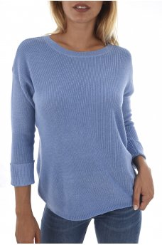 PHILLIPA L/S BOATNECK PULLOVER