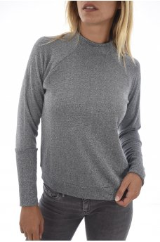 MELODY L/S FUNNELNECK PULLOVER SWT