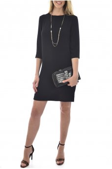 VIC 3/4 SOLID DRESS NOOS WVN